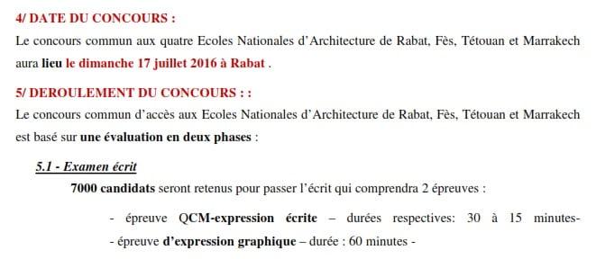 ecole national d'architecture 2016-2017