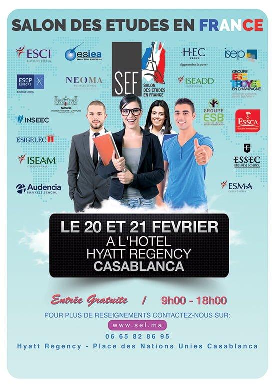 Salon des Etudes en France 20 et 21 Février 2016 à Casablanca