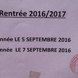 تاريخ الدخول للتكوين المهني الموسم الدراسي 2016-2017