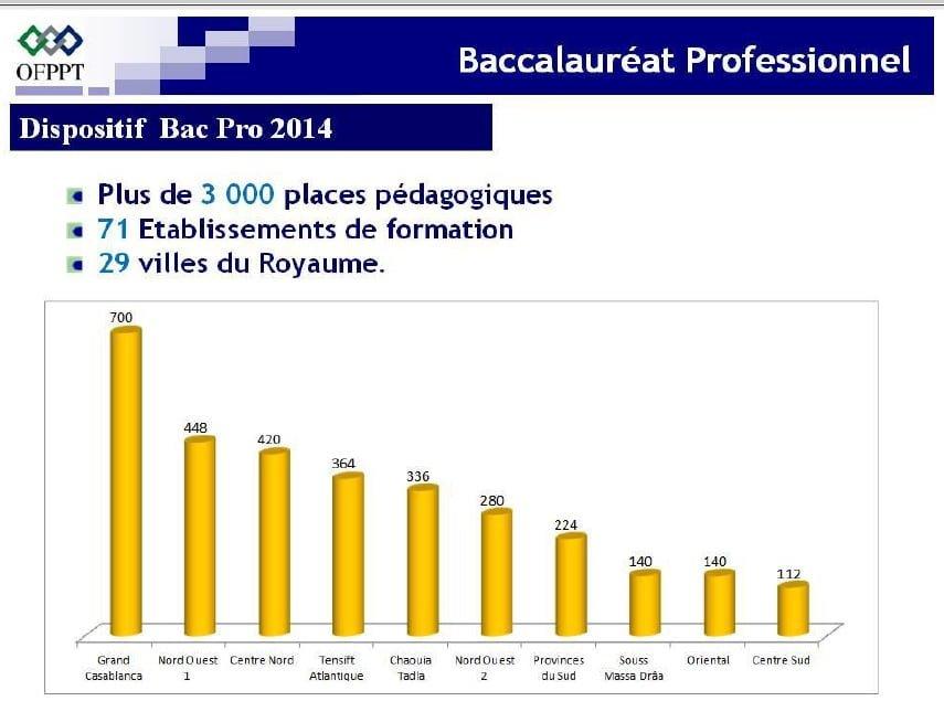 التسجيل في البكالوريا المهنية بالمغرب